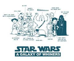 Star Wars Whiners by littlereddog
