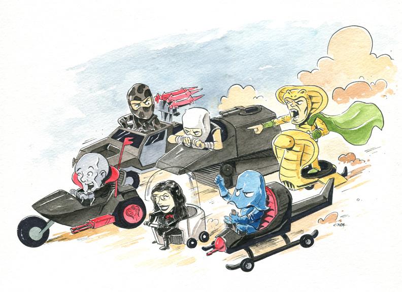 Cobra Wacky Races by littlereddog