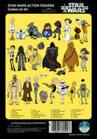 Star Wars Poster by littlereddog