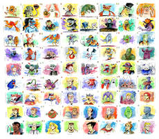 The Real Ghostbusters: 72 Paintings!