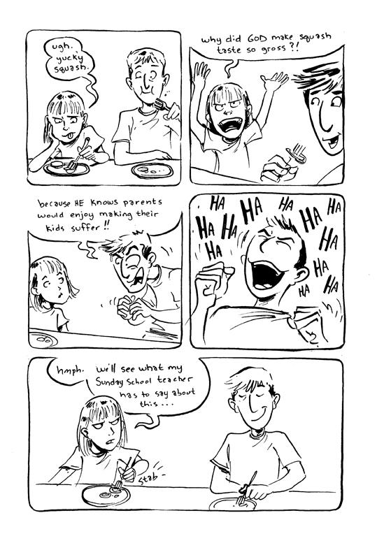 Tupa Squash Comic by littlereddog