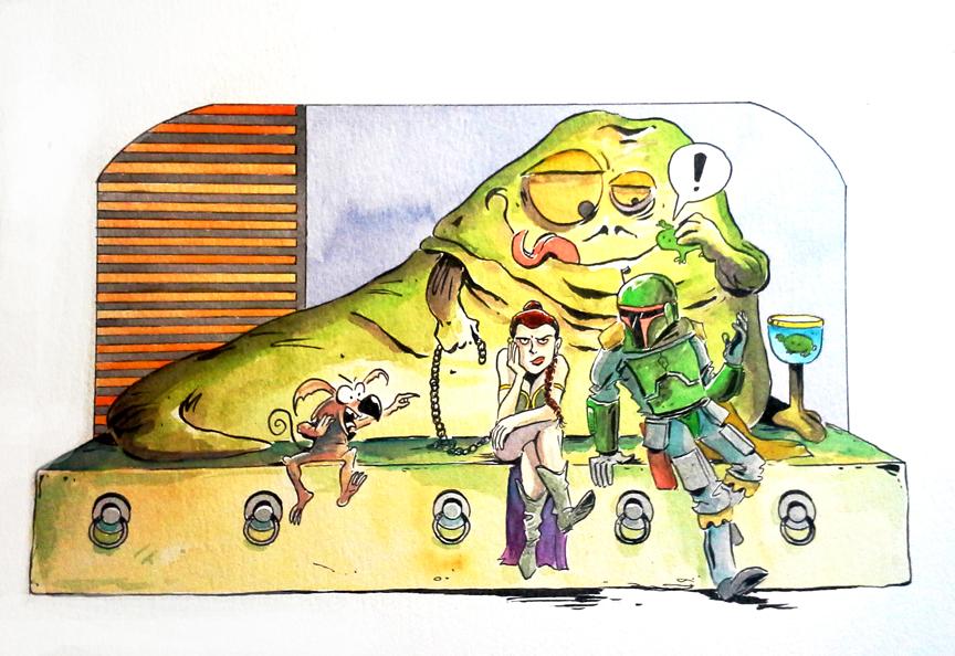 Tupa jabba by littlereddog