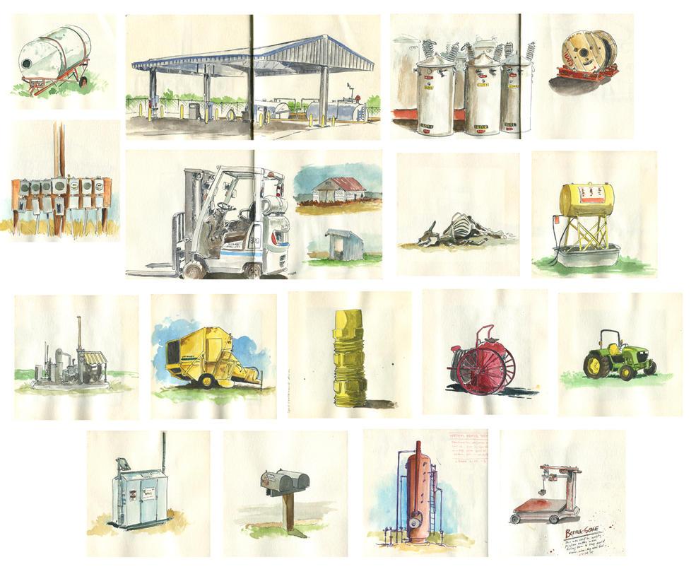 Tupa work sketches by littlereddog