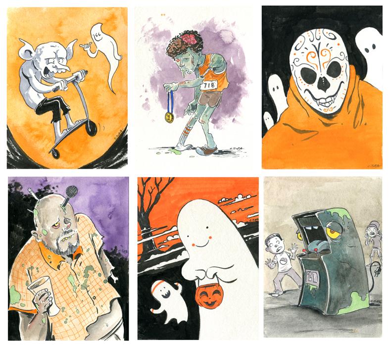 Tupa Halloween1-6 by littlereddog