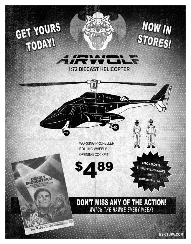Tupa Airwolf toy ad by littlereddog