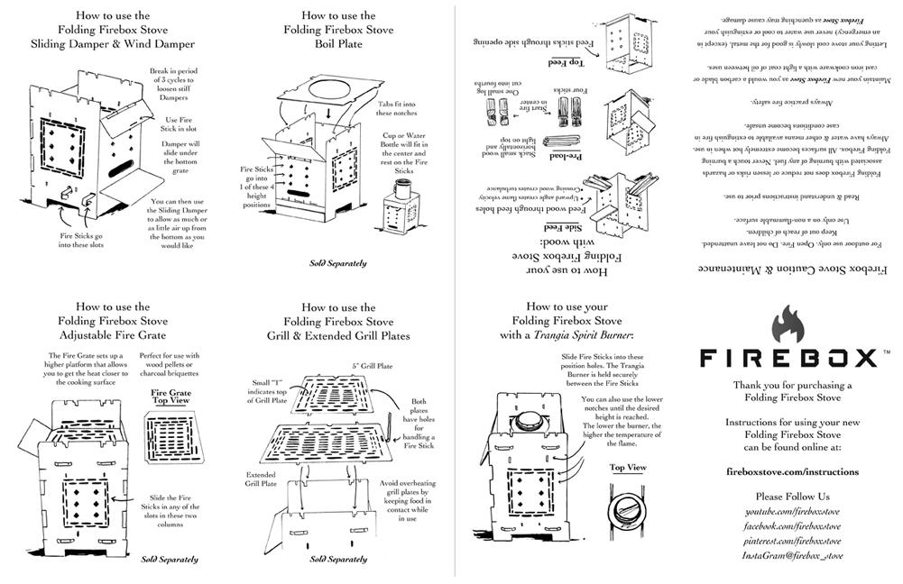 Tupa Firebox Instructions by littlereddog