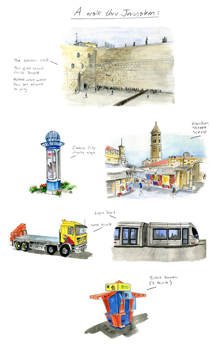 Tupa jerusalem by littlereddog
