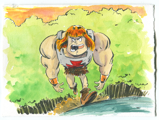 Tupa He-Man by littlereddog