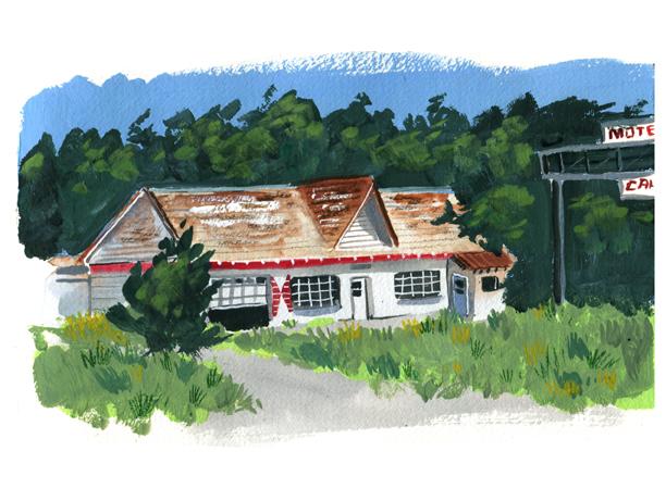 The Texas Longhorn Motel by littlereddog