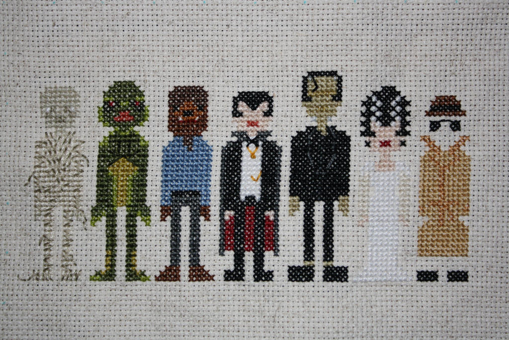 Classic Movie Monsters COMPLETED