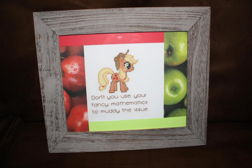 Applejack and Her Honest Quote FRAMED