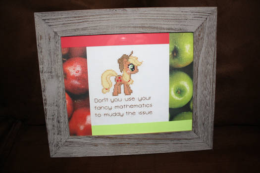 Applejack and Her Honest Quote FRAMED