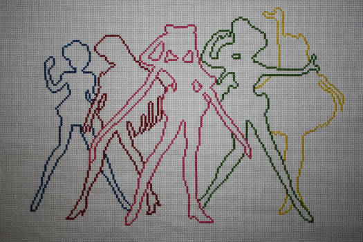 Sailor Moon Stitch-A-Long WIP