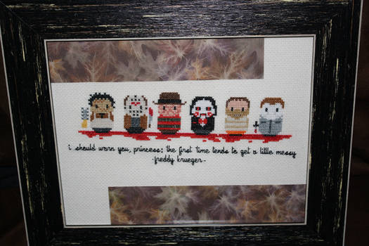 Horror Movie Maniacs FRAMED