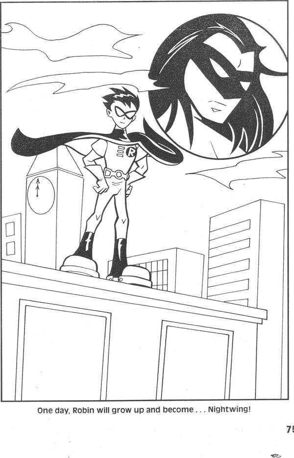 Teen Titans coloring book p.9 by Rustytoons on DeviantArt