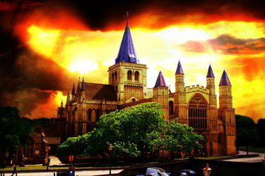 Rochester Cathedral by Vangha