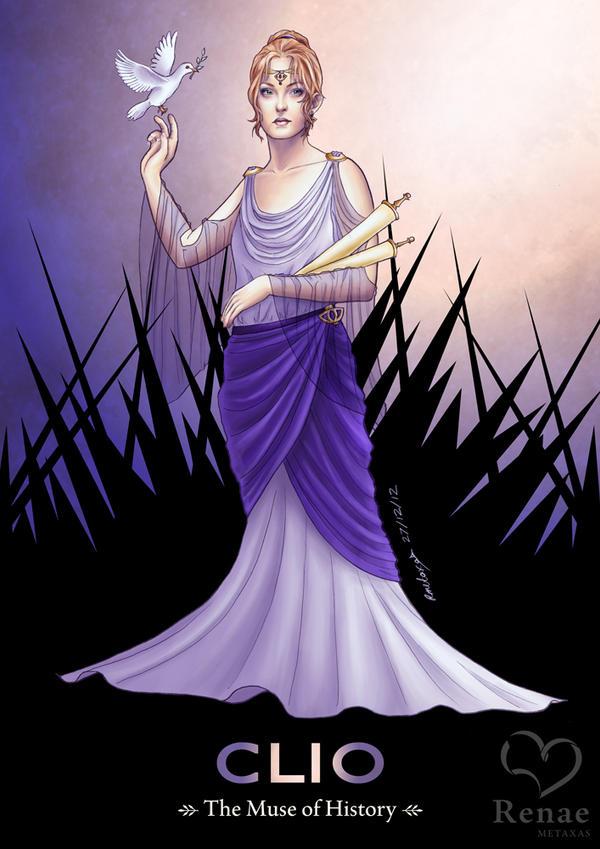 Clio: Muse of History by radiant-suzuka on DeviantArt