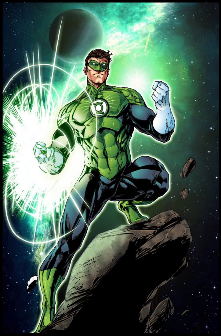 Green Lantern by Furlani on DeviantArt
