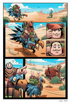 Traveler Page 1 - Ryan Hall / Frogbillgo