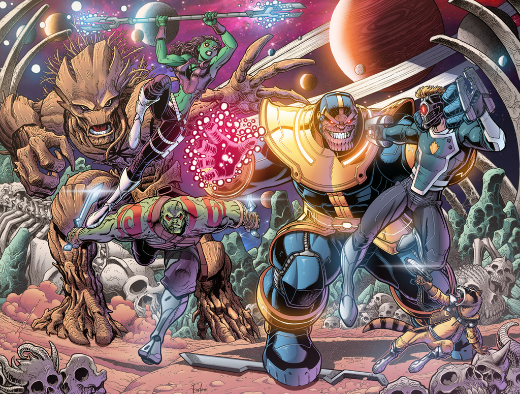 Guardians of the Galaxy - Cover 19 by Furlani