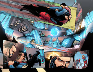 Action Comics - Issue 983 - double page