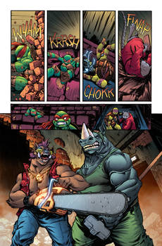 TMNT issue 24 page 1