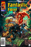 Fantastic Four - Issue 4 - Cover - 1997 - recolor