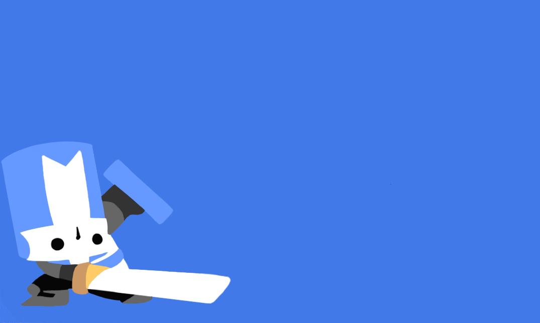 blue castle crasher minimalist by yoshi 11