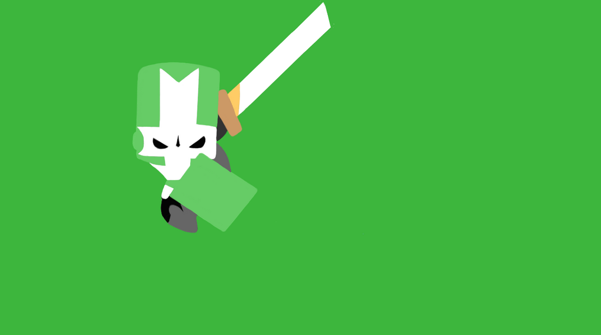 green castle crasher minimalist by yoshi 11