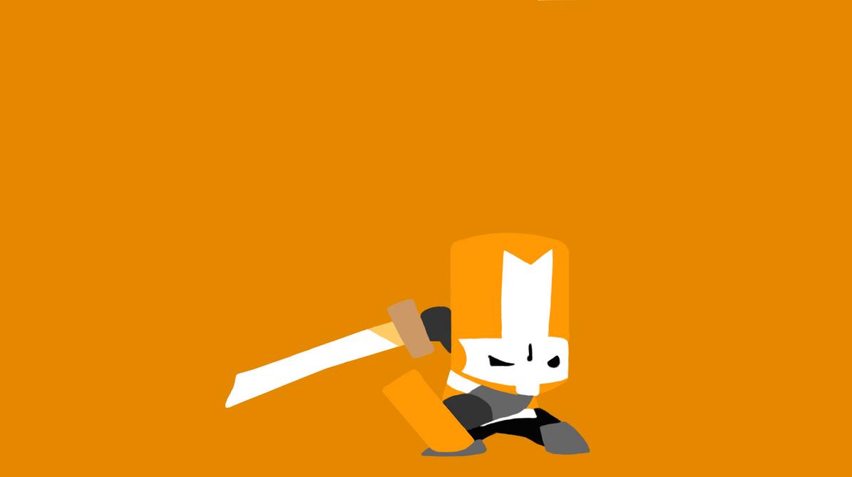 orange castle crasher minimalist by yoshi 11
