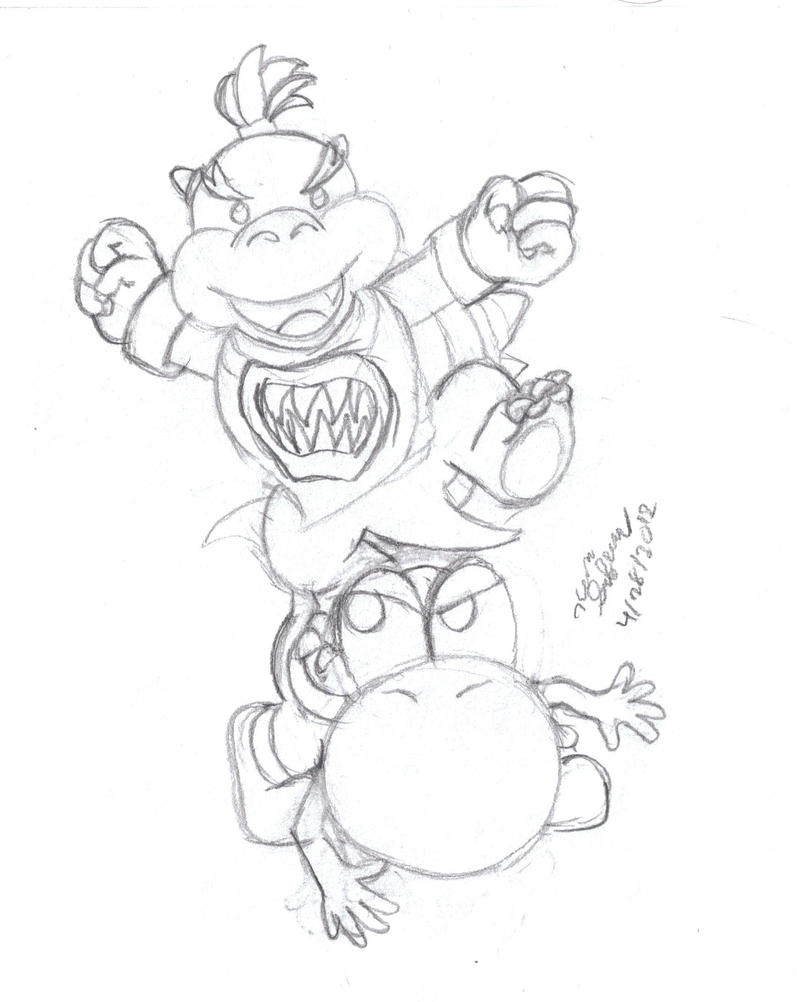 baby bowser coloring pages - photo #39