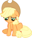 Sad Applejack
