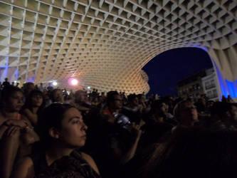 15-M en Sevilla: las setas 2