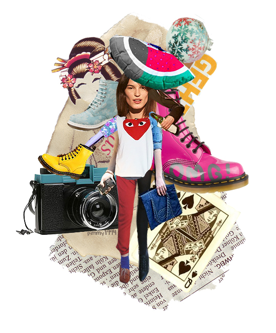 Fashion Book Cover Art : Fashion collage by pimmy on deviantart