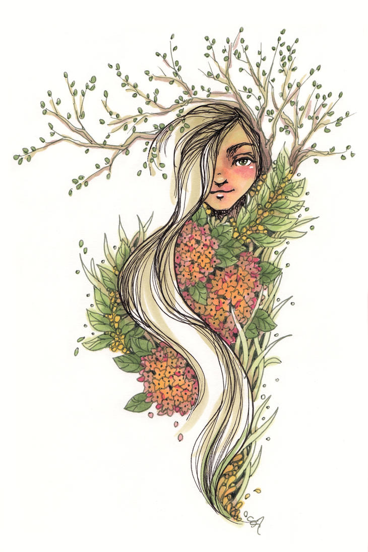 Nature Sprite - Sketchbook by ShannonValentine