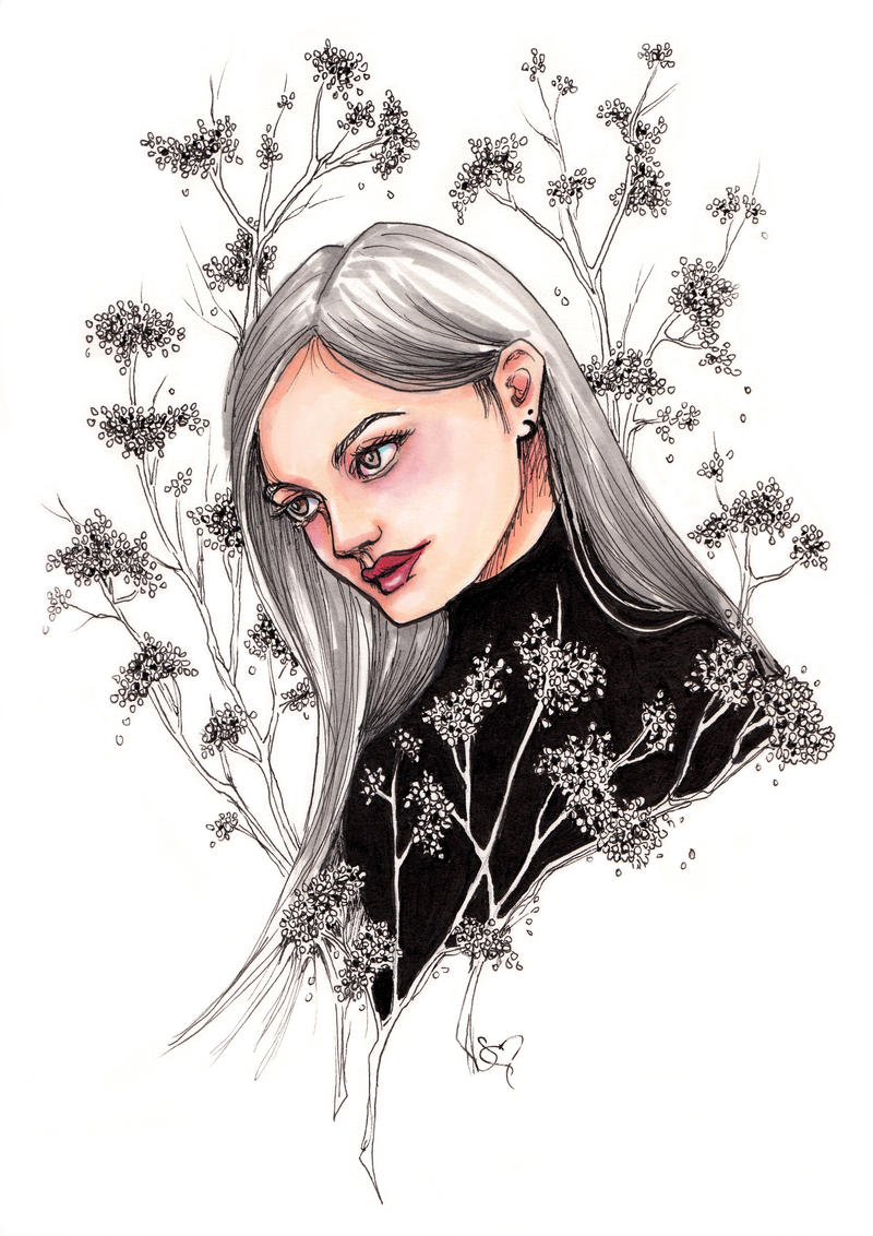 Silver Blooms by ShannonValentine