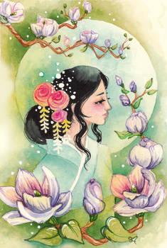 Magnolias And Moonlight