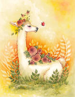Llama Love by ShannonValentine