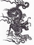 dragon tattoo maggie mostue