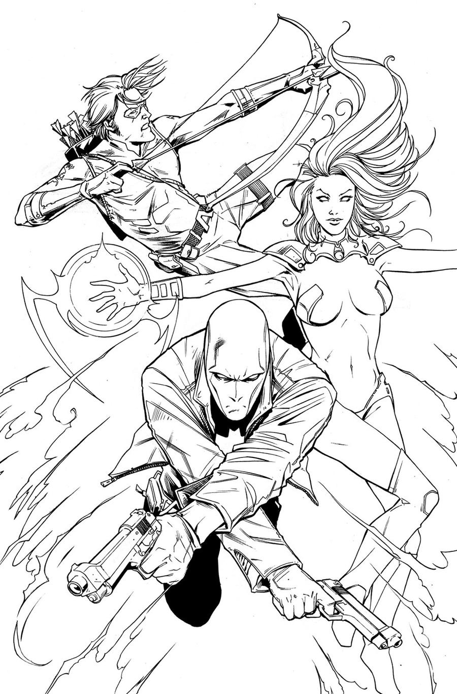 red hood and co by alexmassacci red hood and co by alexmassacci