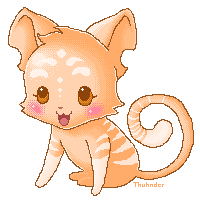 Baby Kougra by skwooshy