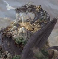 ..Earth Dragon.. by konekonoarashi