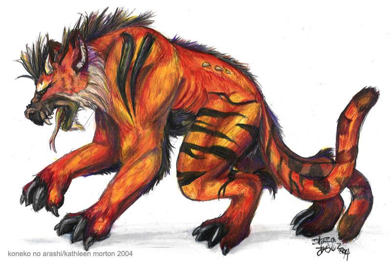 Beasty by konekonoarashi