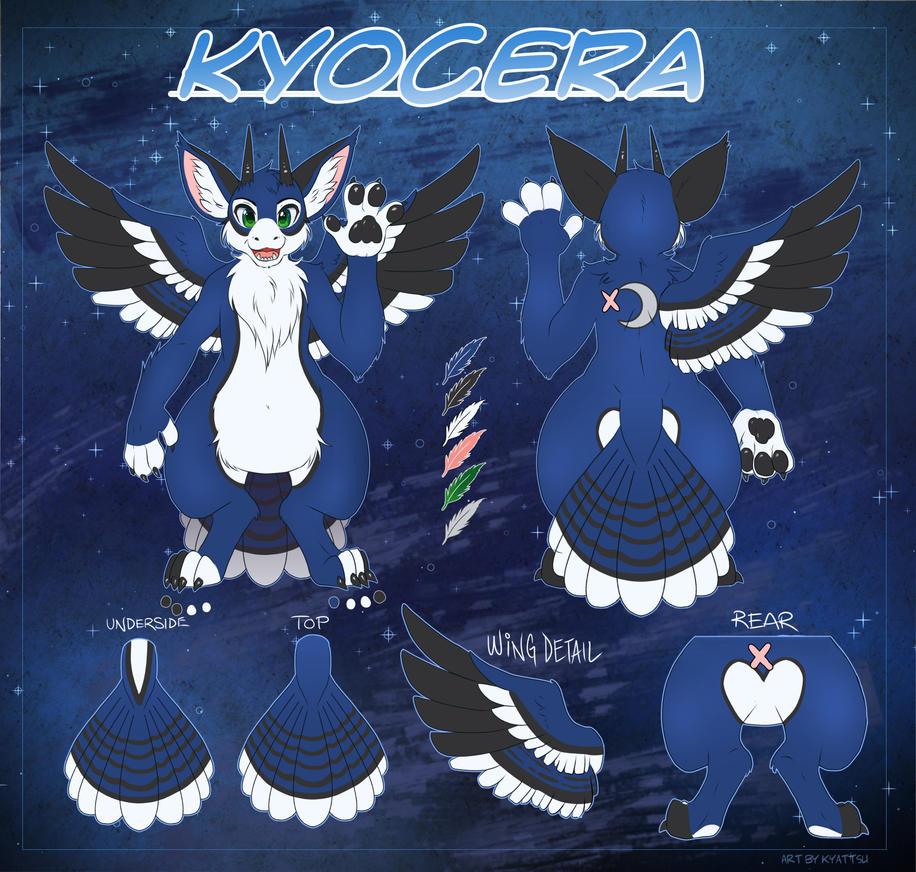 Kyocera Ref Sheet by konekonoarashi