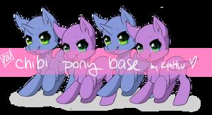 Chibi Pony Base [P2U] 150pt/$1.50