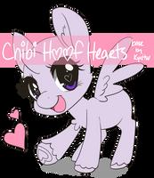 Chibi Hoof Heart Base [P2U - $1.00/100pt]