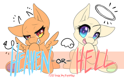 Heaven or Hell Pony Base [P2U - 200pt/$2]
