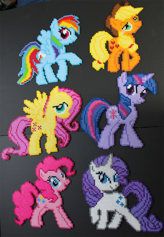 My Little Perlers by ShiloT