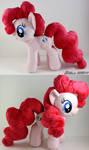 Pinkie Pie Plush by CindersDesigns