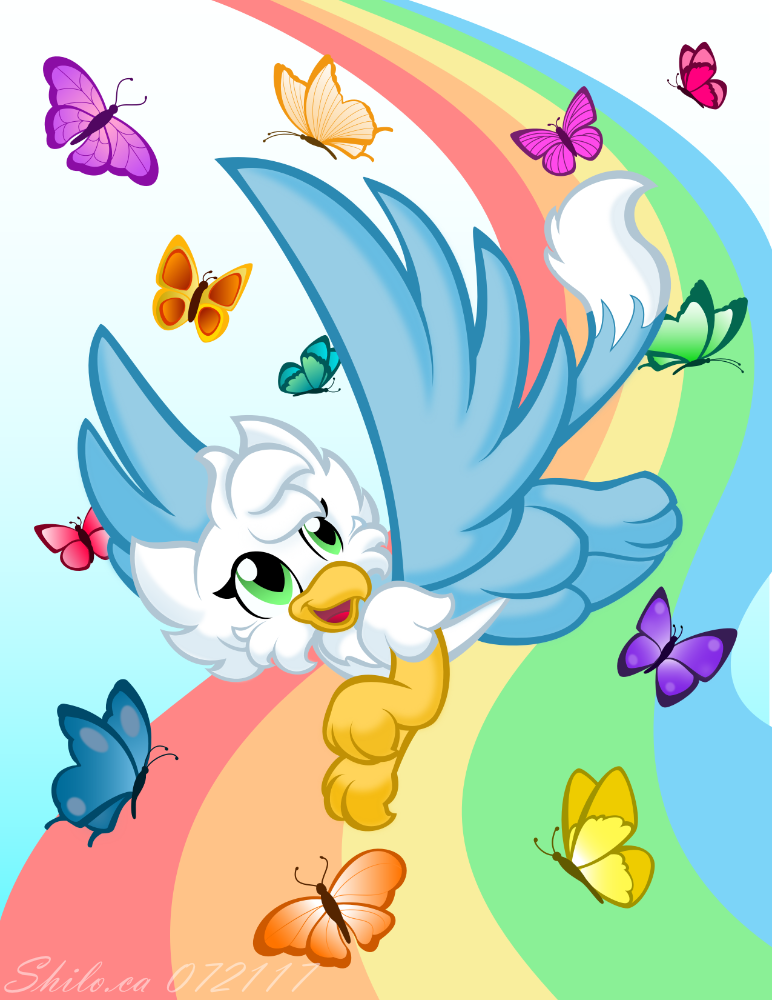 Skyes Butterflies by ShiloT